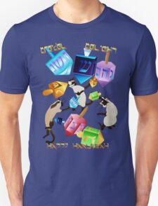 Delightful Dreidels-lettered Unisex T-Shirt