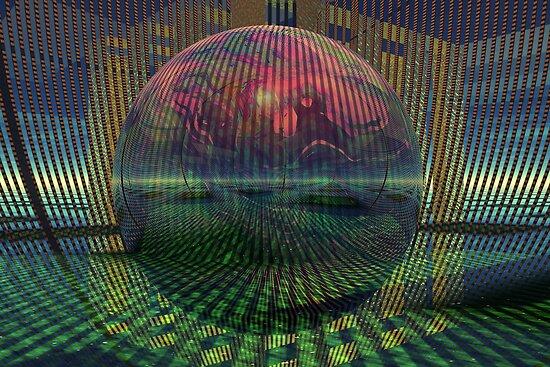 Relativity of a sphere // Atomization by Benedikt Amrhein