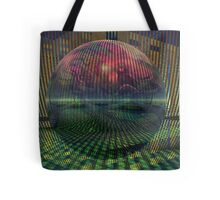 Relativity of a sphere // Atomization Tote Bag