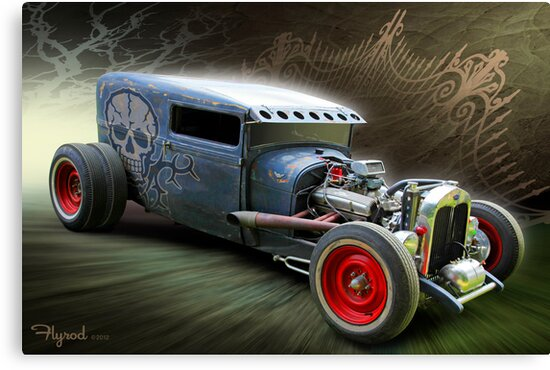 Blue Steel Coffin by flyrod