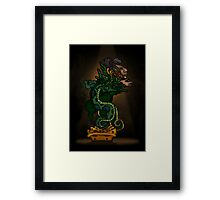 Mayan Serpent God Framed Print