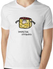 Inspector Lestrudel Mens V-Neck T-Shirt