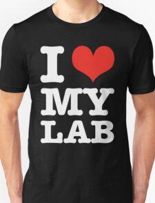 I Love My Lab (black) T-Shirt