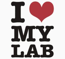 I Love My Lab by Giii