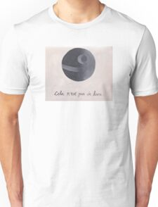 Cela n'est pas de lune (The Treachery of Sith) Unisex T-Shirt
