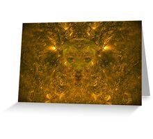 Solar Wind Goddess (signed) Greeting Card