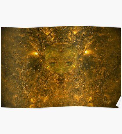 Solar Wind Goddess (signed) Poster
