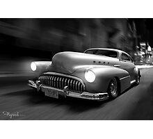Buick Noir Photographic Print