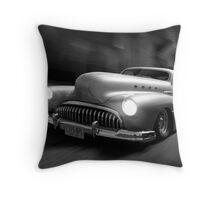 Buick Noir Throw Pillow