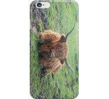 Highland Cow iphone cover iPhone Case/Skin