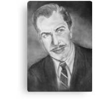 Vincent Price....young Canvas Print