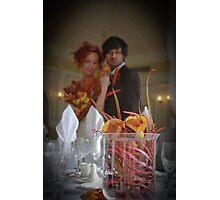 Autumn Wedding Photographic Print