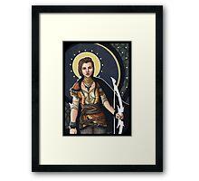 Fantasy Archer Framed Print