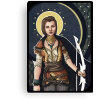 Fantasy Archer Canvas Print