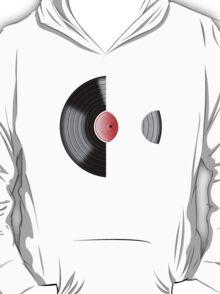 Vinyl Record Sleeved T-Shirt
