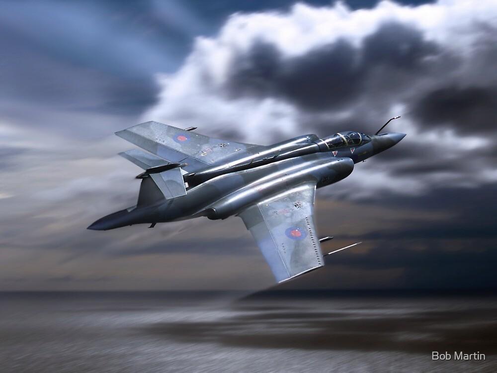 Royal Air Force Buccaneer by Bob Martin