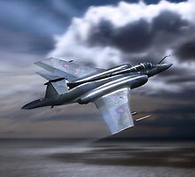 Royal Air Force Buccaneer by Bob Martin