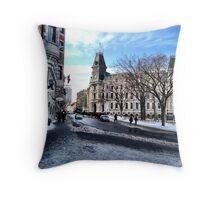 Quebec City Throw Pillow