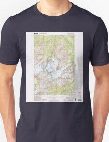 USGS Topo Map Washington State WA Mount Olympus 242523 1999 24000 Unisex T-Shirt
