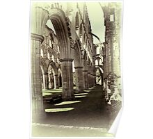 Rievaulx Abbey 4 Poster