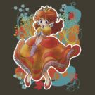 Princess Daisy T-shirt by SaradaBoru
