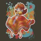 Princess Daisy T-shirt by SaradaBoru