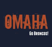 Omaha (Go Broncos!) Kids Tee