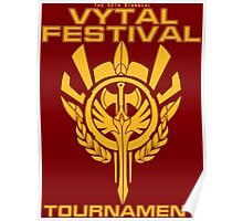Vytal Fesitval Tournament - Gold Poster