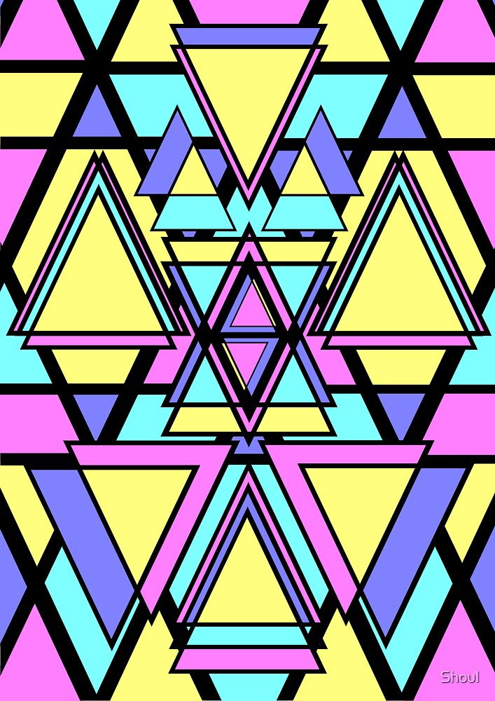 Visually Inept Triangles by Shoul