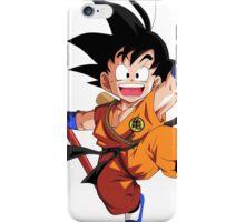 Dragon ball Z kid Goku iPhone Case/Skin