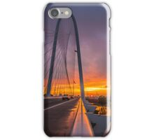 Dallas November Storm Sunset iPhone Case/Skin