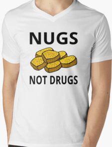 Nugs Not Drugs Mens V-Neck T-Shirt