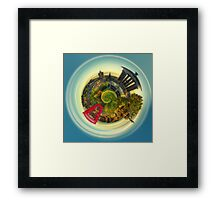 EcHo'S LiTtLe PlAnEt Framed Print