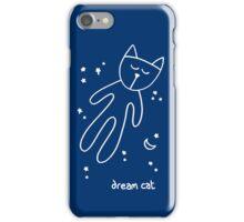 dream cat iPhone Case/Skin