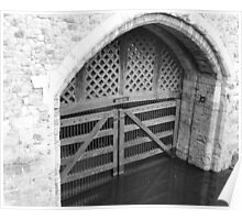 Traitors Gate - Tower of London Poster