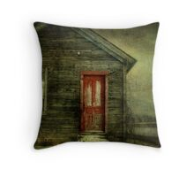 Abandoned (like Andrew Wyeth) Throw Pillow