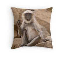 Caught in the act! Throw Pillow