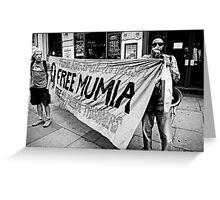 Free Mumia Greeting Card