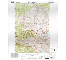 USGS Topo Map Washington State WA Elk Rock 241002 1998 24000 Poster