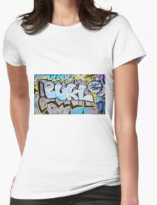 Colourful Language Womens Fitted T-Shirt