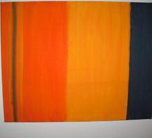 Stripes Orange  by WildWill