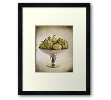 Eat more vegetables Framed Print