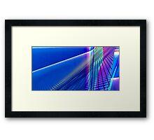 Blue Hues Framed Print