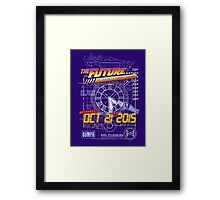 The Future... Already Been There Oct 21st 2015 Framed Print