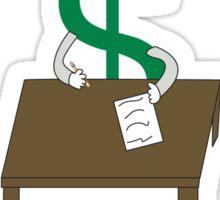 I Vote Education Sticker