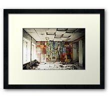 Space Age Dreams ~ Pripyat  Framed Print