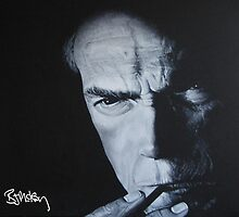 Clint Eastwood by barrymckay