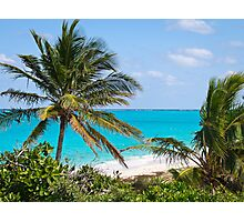 A Special Man O' War Cay View of the Atlantic Ocean Photographic Print