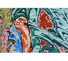 English graffiti Photographic Print