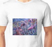 Dumpster diving on planet20 Unisex T-Shirt